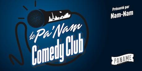 Le Pa'Nam Comedy Club #89 billets