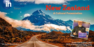 New Zealand: A Cultural Presentation with Glenn Standish