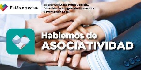Workshop Hablemos de Asociatividad entradas