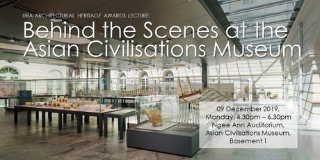 Behind the Scenes at the Asian Civilisations Museum [2 CPD Points] billets
