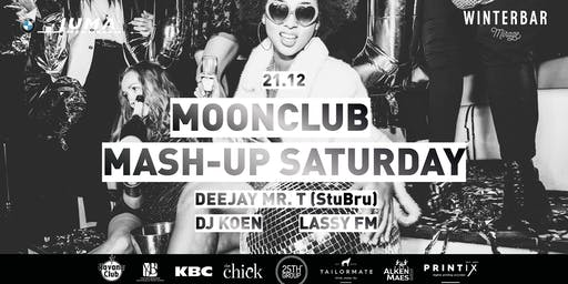 Winterbar Mirage Mechelen: Moonclub Mash-Up Saturday