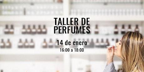 Taller de Perfumes y Cata Olfativa en la Academia del Perfume tickets