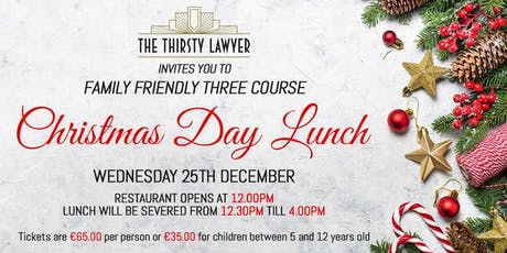 Christmas Day Lunch @TheThirstyLawyer tickets