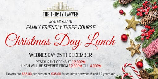 Christmas Day Lunch @TheThirstyLawyer