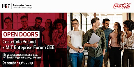 Coca-Cola Open Doors Day x MIT EF CEE tickets