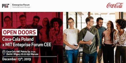 Coca-Cola Open Doors Day x MIT EF CEE