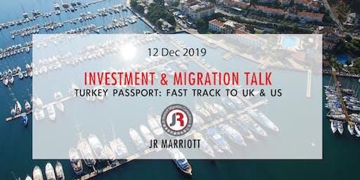 Turkey: Fast Track to UK & US | 土耳其: 通往英美之門