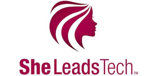 SheLeadsTech – Diversitet & Netværk -  Torsdag d. 5. marts 2020