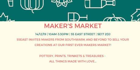 Walworth Maker's Market tickets