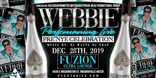 WEBBIE LIVE ( New Years Celebrations ) Indianapolis