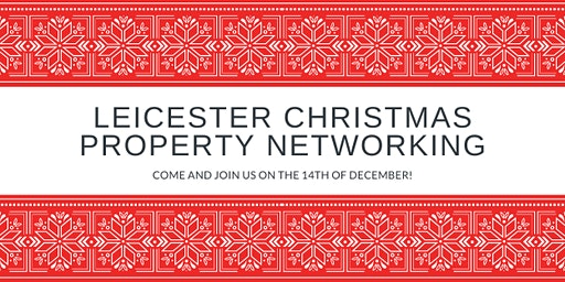 Leicester Christmas Property Networking