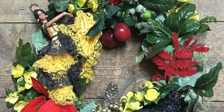 Upcycyled wreath workshop with Kaye Dunnings tickets