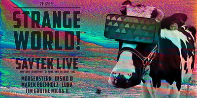 Strange World! - Saytek *live (Awesome Soundwave- UK)