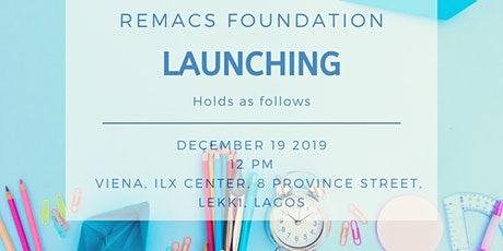 Remacs Foundation Launch tickets