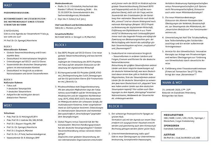 WCLFiscal-Offensive '20 - Tax meets politics: Bild