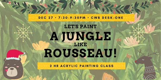 Let's Paint a Jungle like Rousseau!