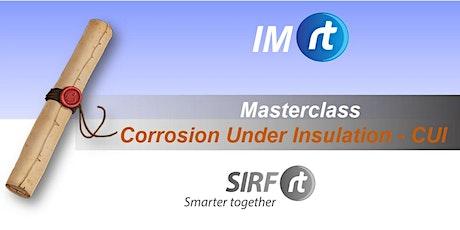 WA Corrosion Under Insulation | CUI | Dr Kod Pojtanabuntoeng tickets