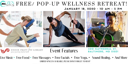 Free Pop Up Wellness Retreat