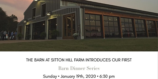 The Barn at Sitton Hill's First Dinner Series