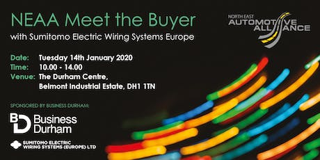 NEAA Meet the Buyer with Sumitomo Electric Wiring Systems Europe tickets