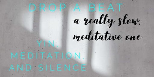 Yin, Meditation, and Silence Workshop with Beth