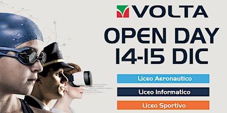 Open Day Licei Volta biglietti
