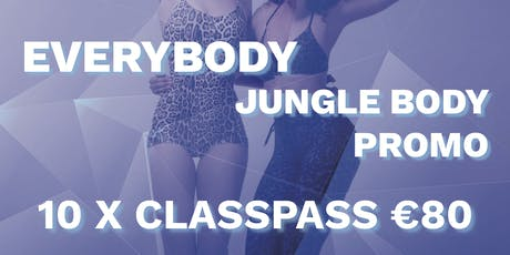 The Jungle Body with Justine tickets