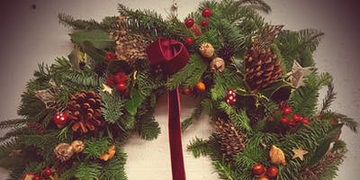 Christmas Door Wreath Workshop