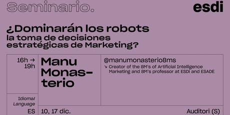 ¿Dominarán los Robots la toma de decisiones estratégicas de Marketing? entradas