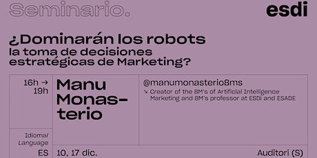 ¿Dominarán los Robots la toma de decisiones estratégicas de Marketing? tickets