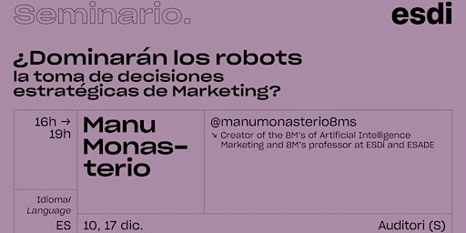 ¿Dominarán los Robots la toma de decisiones estratégicas de Marketing?
