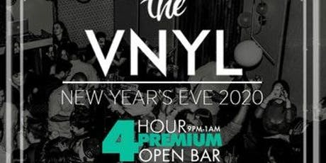 The VNYL New Year's Eve 2020 tickets