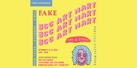 BABY EVIL x FAKE merch Tote Launch [BGC Art Mart] tickets