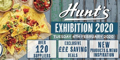 Hunt's Expo 2020 tickets