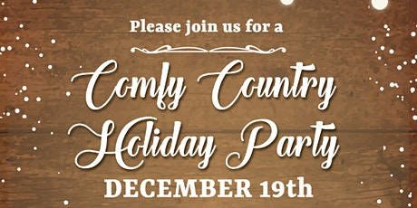 KW Nashville Comfy Country Holiday Party tickets