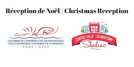 5-7 Réception de Noël / Christmas Reception tickets