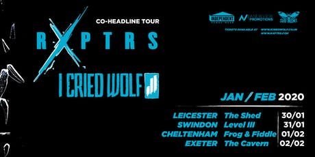 IVW: RXPTRS x I Cried Wold // The Vault // 30.01.2019 tickets