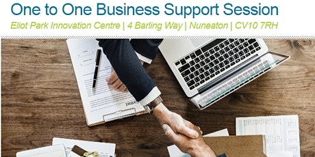 One to One Business Support Session for Nuneaton & Bedworth Businesses tickets