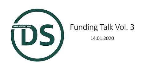 Funding Talk Vol. 3 Tickets
