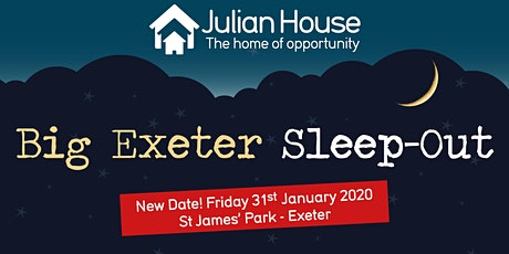 The Big Exeter Sleep-Out 2020 tickets