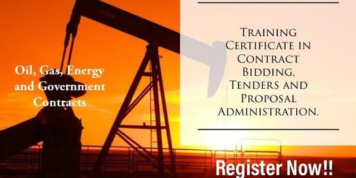 Contract Bidding, Tenders and Proposal Administration Training in Port-Harcourt