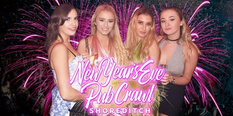 Shoreditch NYE Bar Crawl tickets