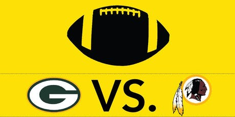 Packers vs. Redskins Tailgate tickets