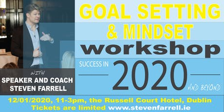 Steven Farrell Goal Setting and Mindset tickets
