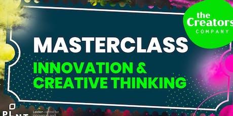 Masterclass Innovation & Creative Thinking tickets