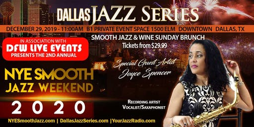 NYE Smooth Jazz Sunday Brunch Dallas 1 2-29-19. Joyce Spencer and Friends