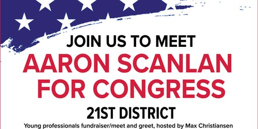 Holiday Cocktails with Aaron Scanlan For Congress