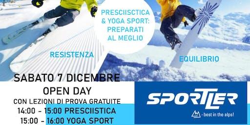 Open Day Presciistica & Yoga Sport