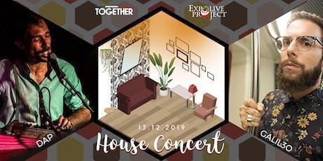 House Concert - DAP + Galil3o biglietti