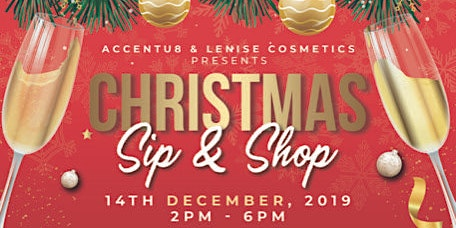 Christmas Sip & Shop- Vendor Sign Up